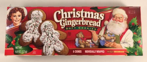 Countdown To Christmas Gingerbread Man My Blog