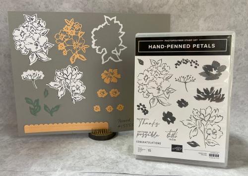 Hand penned petals bundle